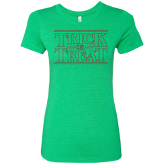 Trick Or Treat Women's Triblend T-Shirt