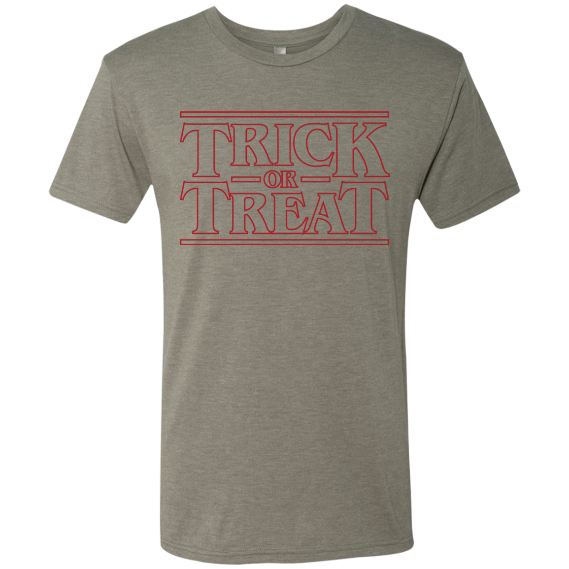 Trick Or Treat Men's Triblend T-Shirt