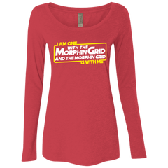 One With The Women's Triblend Long Sleeve Shirt
