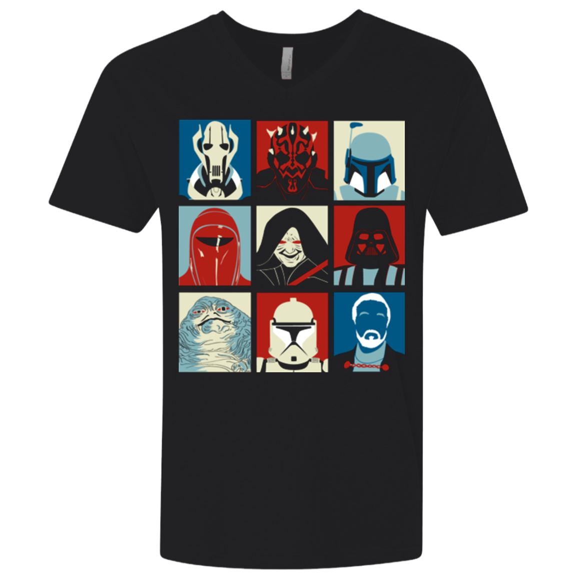 Villain Wars Pop Men's Premium V-Neck