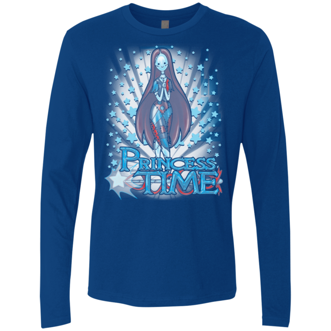 Princess Time Sally Men's Premium Long Sleeve