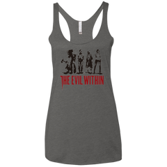The Evil Within Women's Triblend Racerback Tank