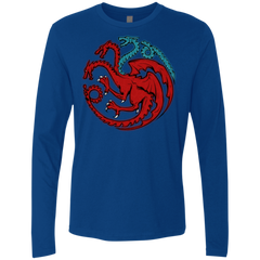 Trinity of fire and ice V2 Men's Premium Long Sleeve