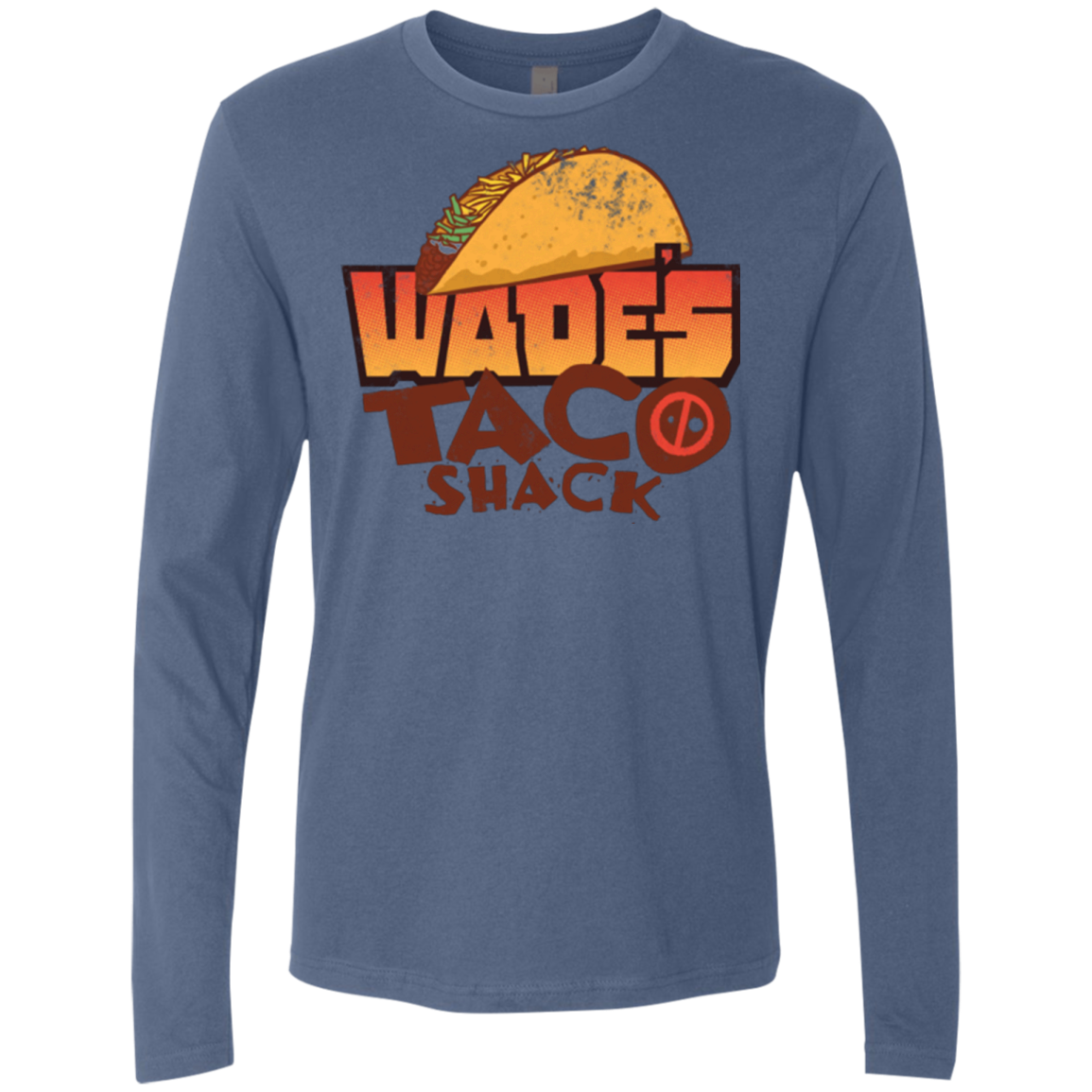 Wade Tacos Men's Premium Long Sleeve