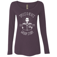 Witchcraft Study Women's Triblend Long Sleeve Shirt