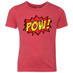 pow Youth Triblend T-Shirt