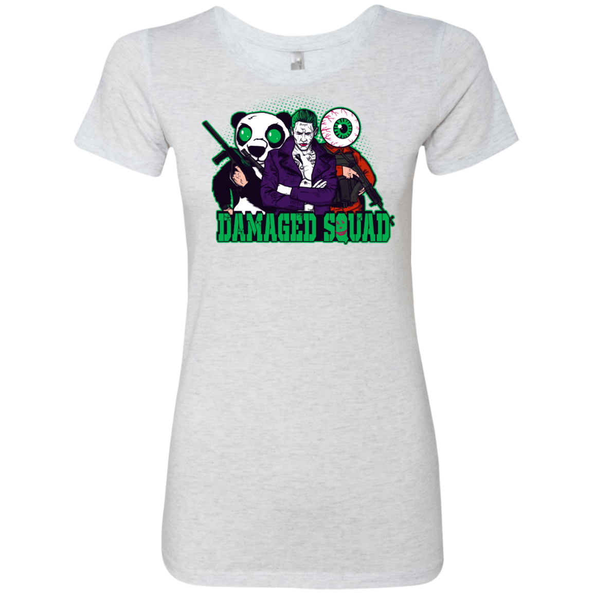 Damaged Squad Women's Triblend T-Shirt