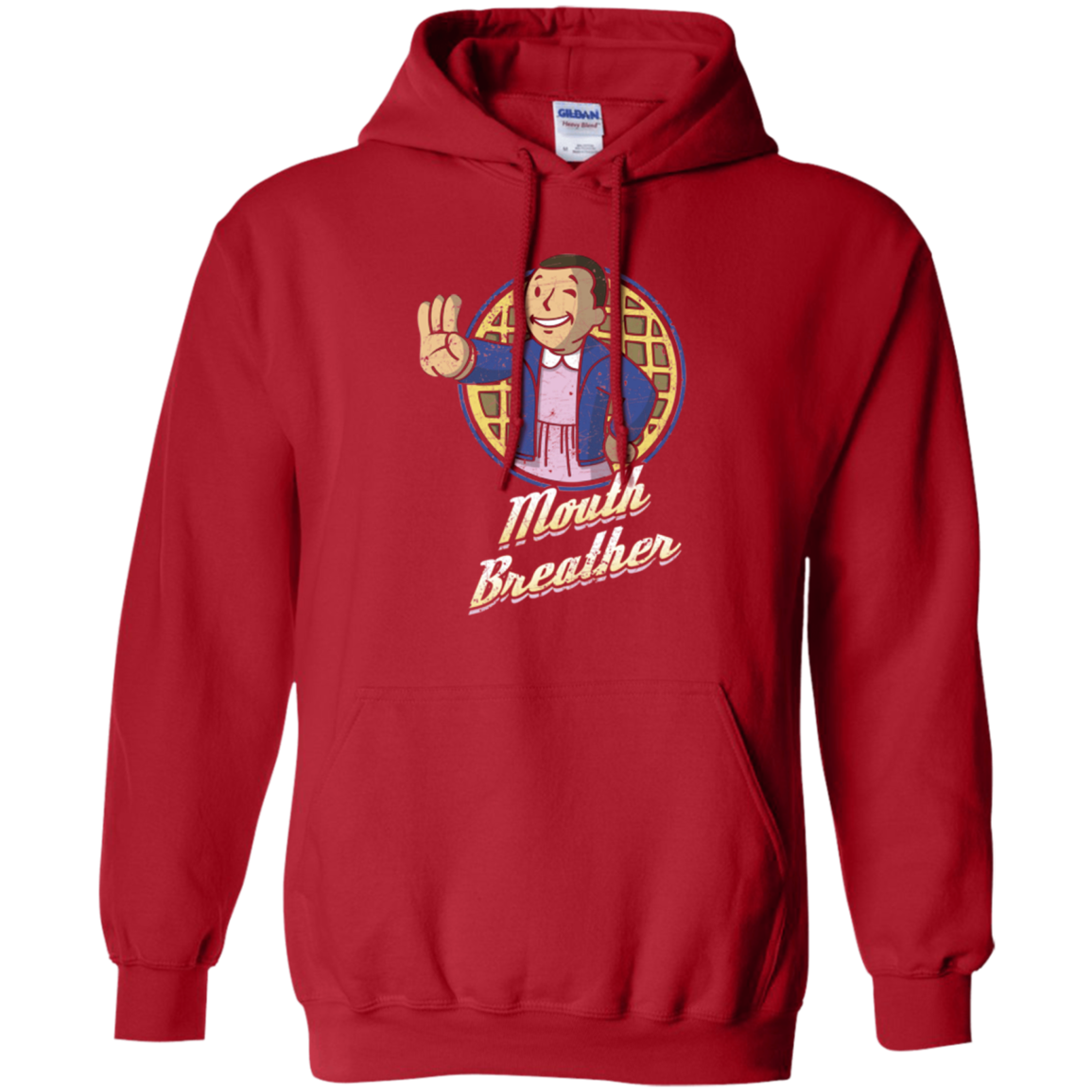 Mouth Breather Pullover Hoodie