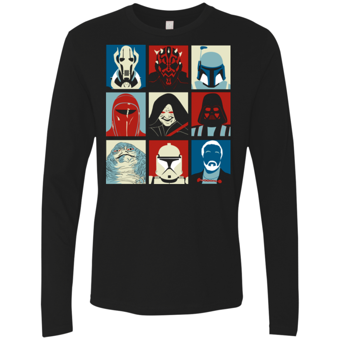 Villain Wars Pop Men's Premium Long Sleeve