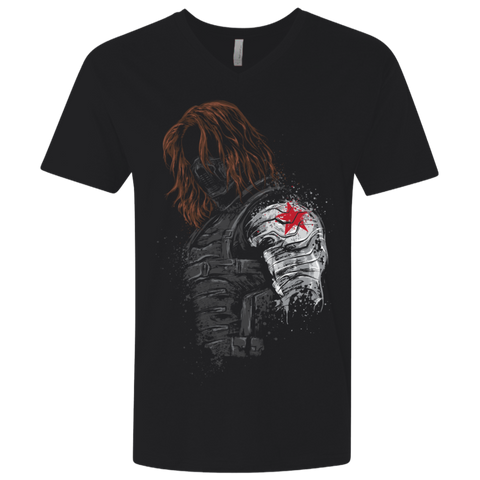 Winter Soldier Men's Premium V-Neck