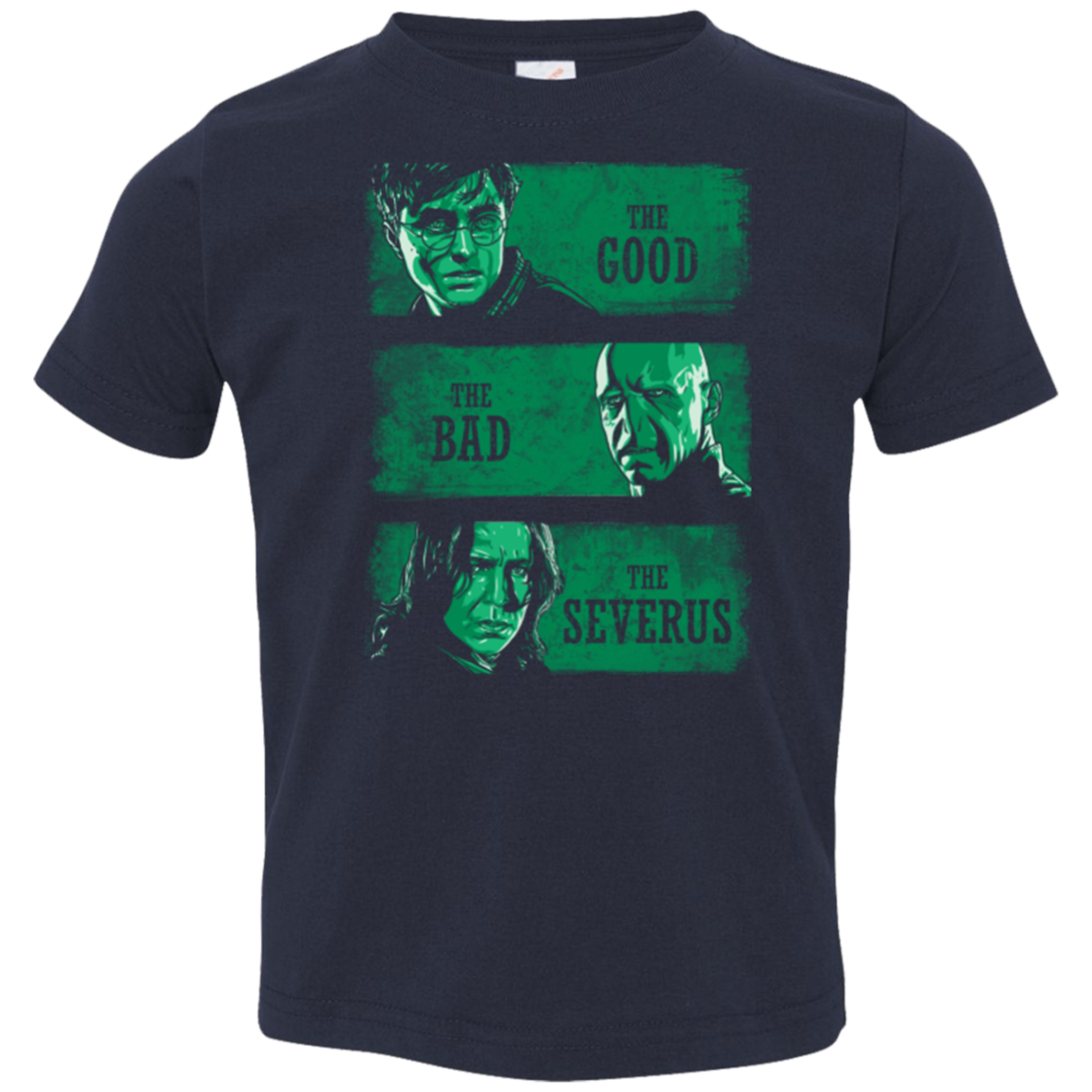 The Good the Bad and the Severus Toddler Premium T-Shirt