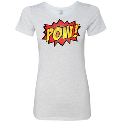 pow Women's Triblend T-Shirt