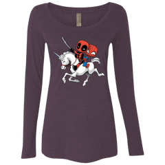 Magical Friends Women's Triblend Long Sleeve Shirt