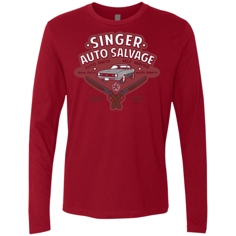 Singer Auto Salvage Men's Premium Long Sleeve