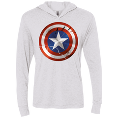 Civil War Triblend Long Sleeve Hoodie Tee