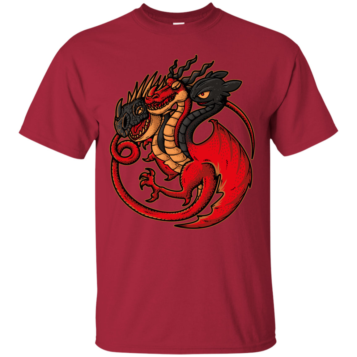 FIRE BLOOD AND TRAINING T-Shirt