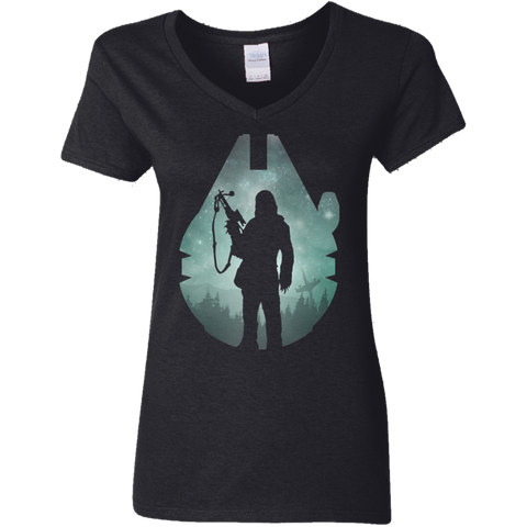 The Wookiee Women's V-Neck T-Shirt