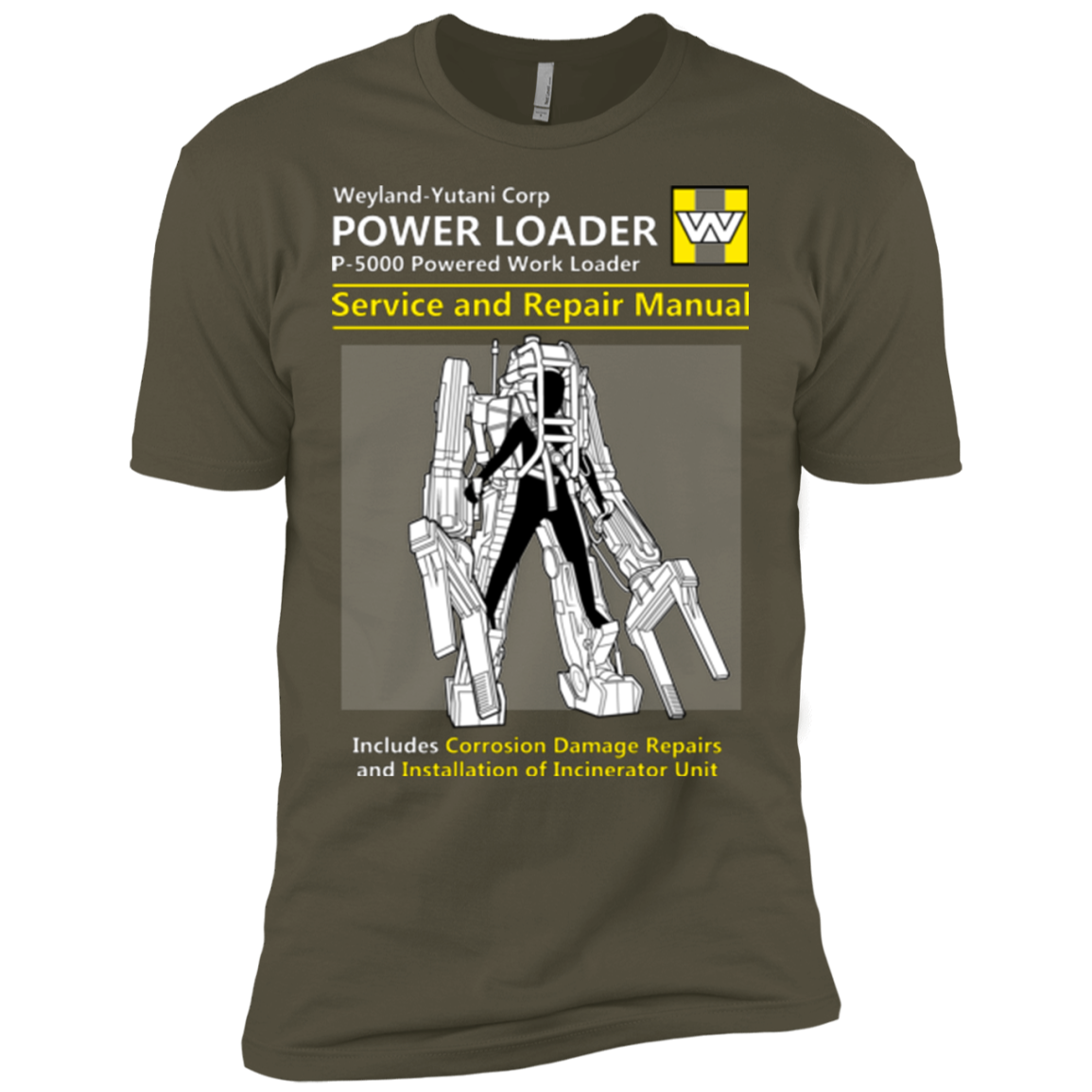 POWERLOADER SERVICE AND REPAIR MANUAL Men's Premium T-Shirt