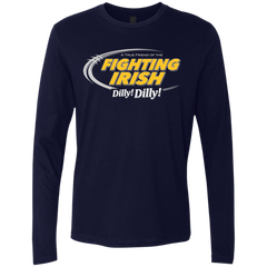 Notre Dame Dilly Dilly Men's Premium Long Sleeve