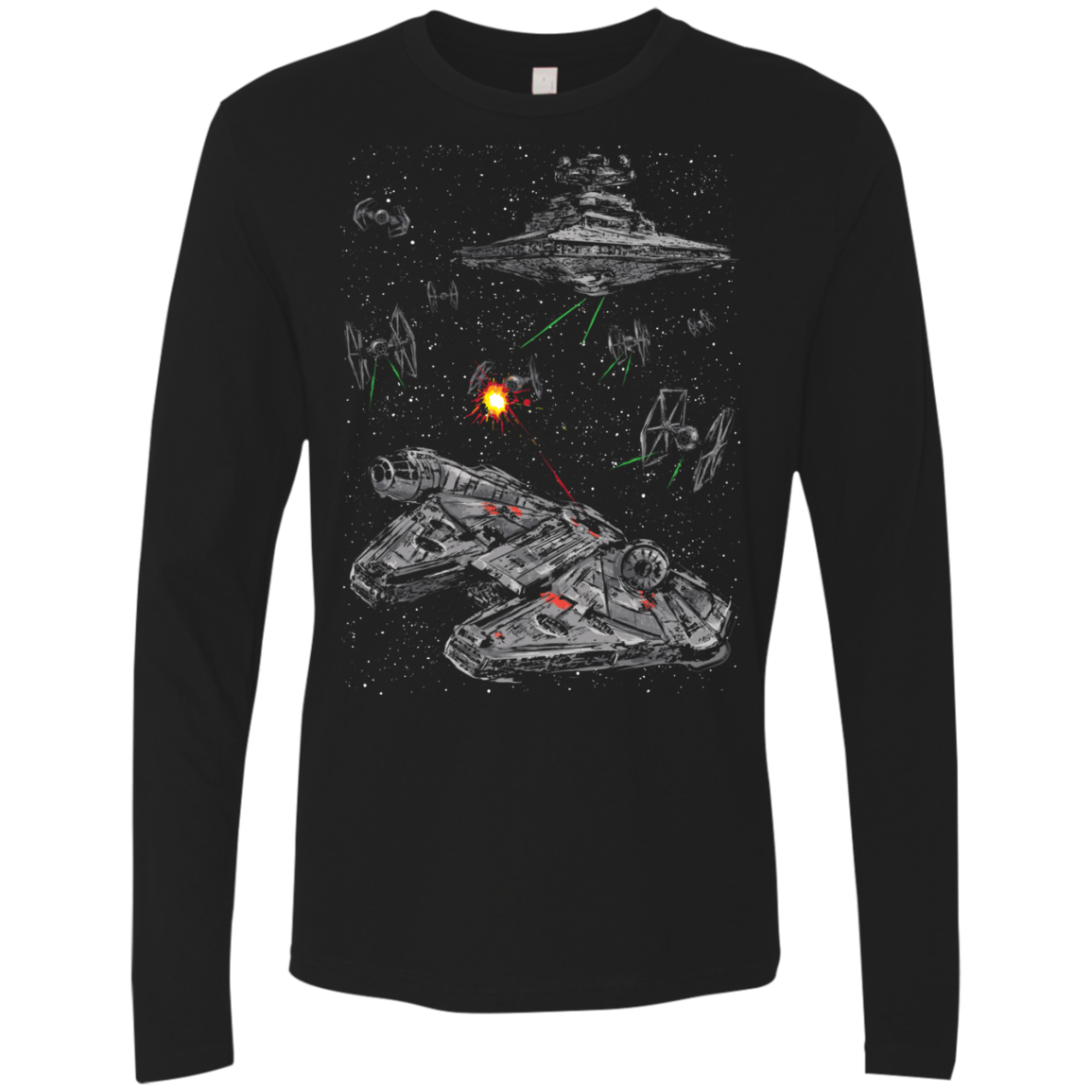 Escape the Imperial Navy Men's Premium Long Sleeve