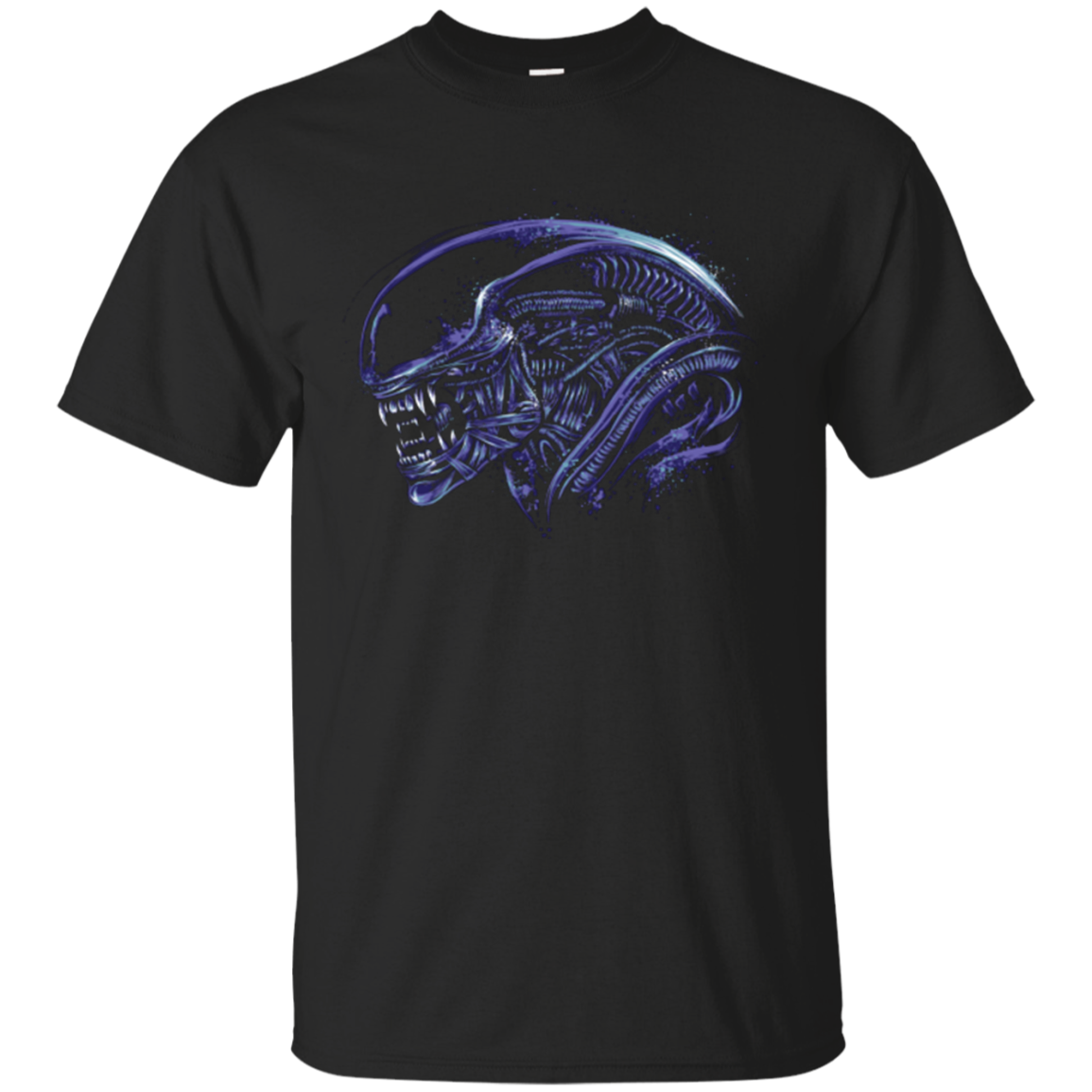 Space Nightmare Purple T-Shirt