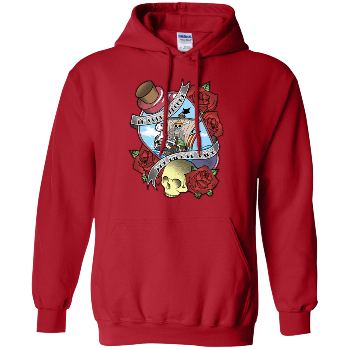 The Pirate King Pullover Hoodie