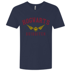 Hogwarts Quidditch Men's Premium V-Neck