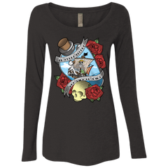 The Pirate King Women's Triblend Long Sleeve Shirt
