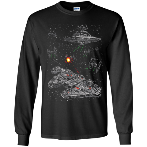 Escape the Imperial Navy Youth Long Sleeve T-Shirt