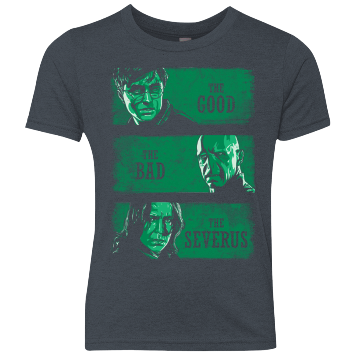 The Good the Bad and the Severus Youth Triblend T-Shirt