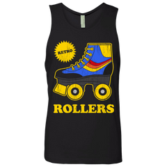 Retro rollers Men's Premium Tank Top