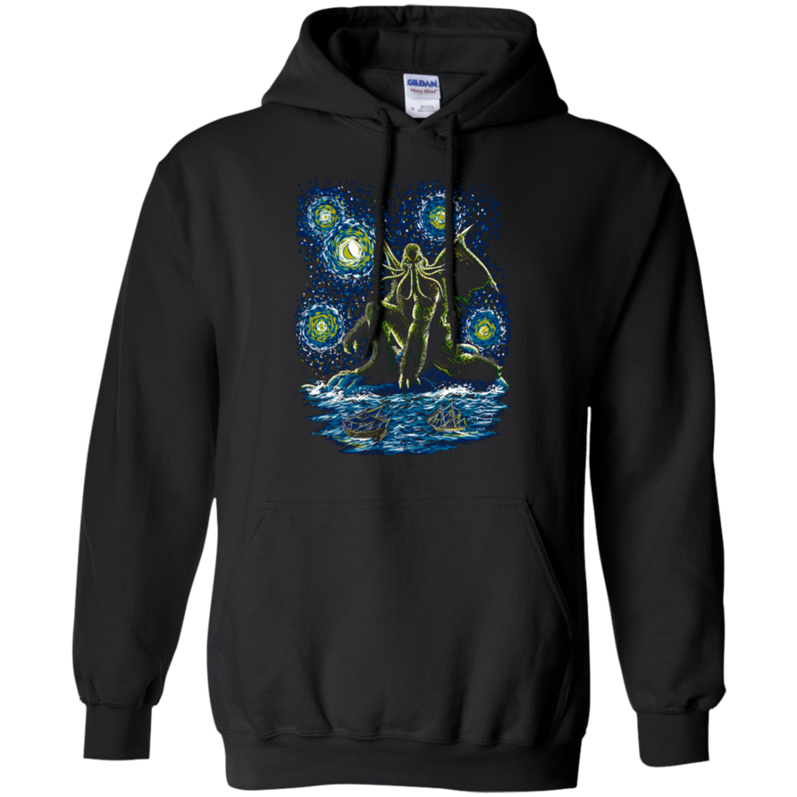 Night of Cthulhu Pullover Hoodie