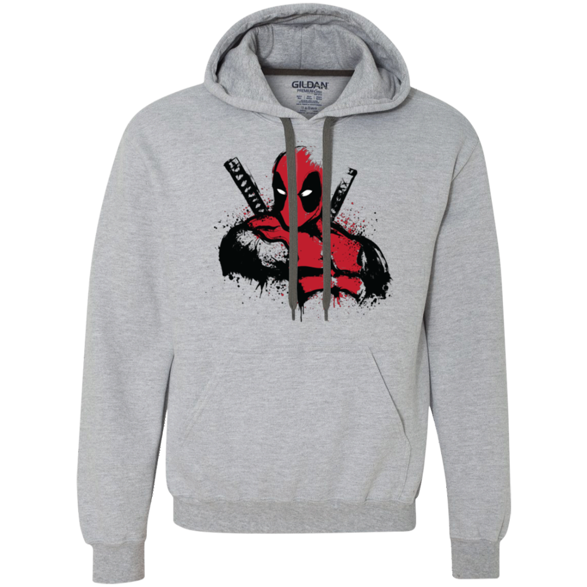 The Merc in Red Premium Fleece Hoodie