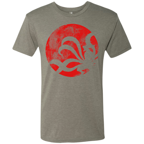 The Rage of the Tailed Beast Men's Triblend T-Shirt