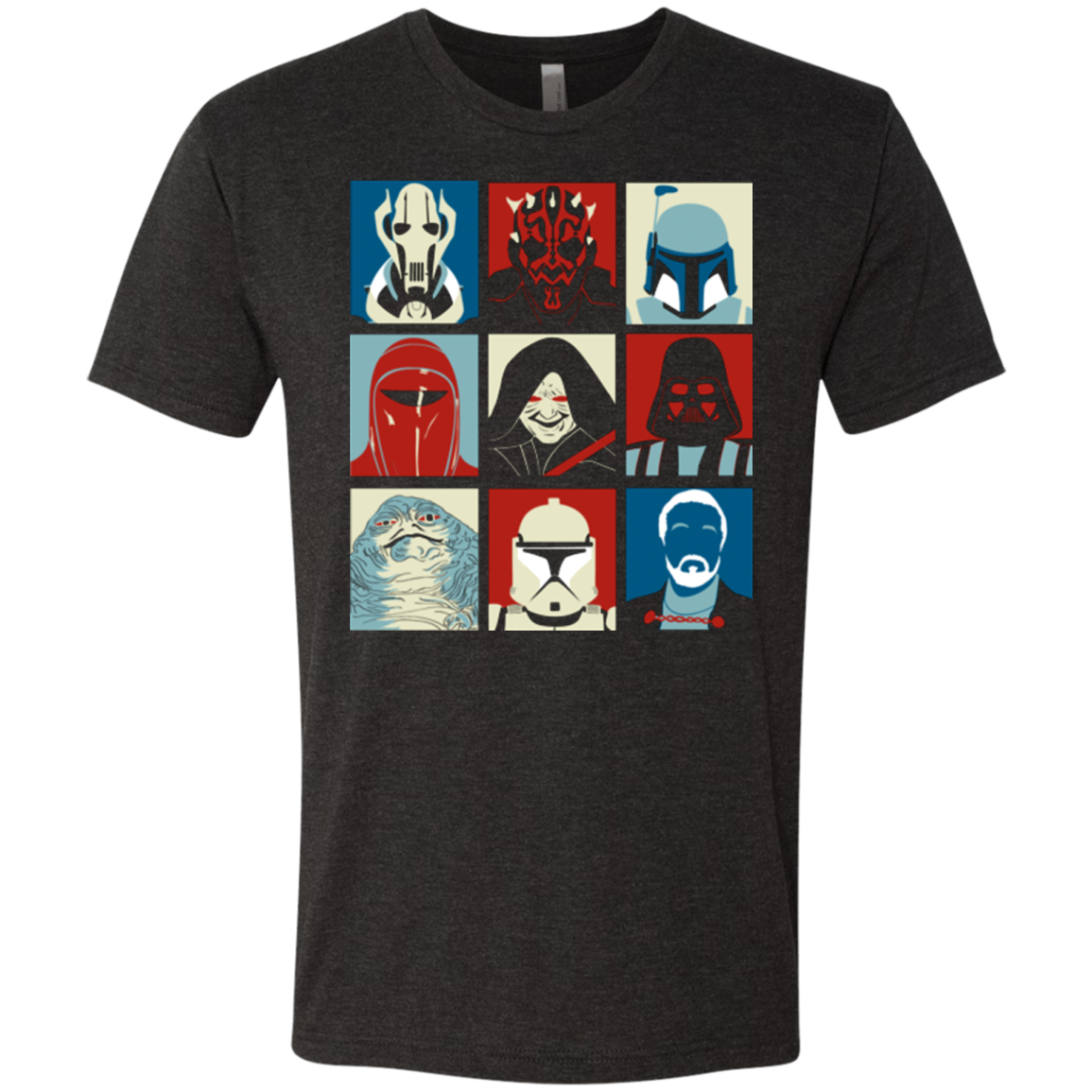 Villain Wars Pop Men's Triblend T-Shirt