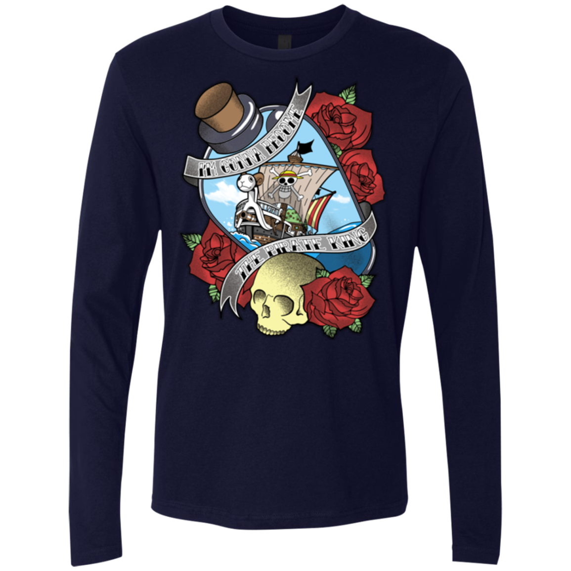 The Pirate King Men's Premium Long Sleeve