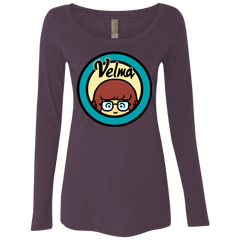 Velma Women's Triblend Long Sleeve Shirt