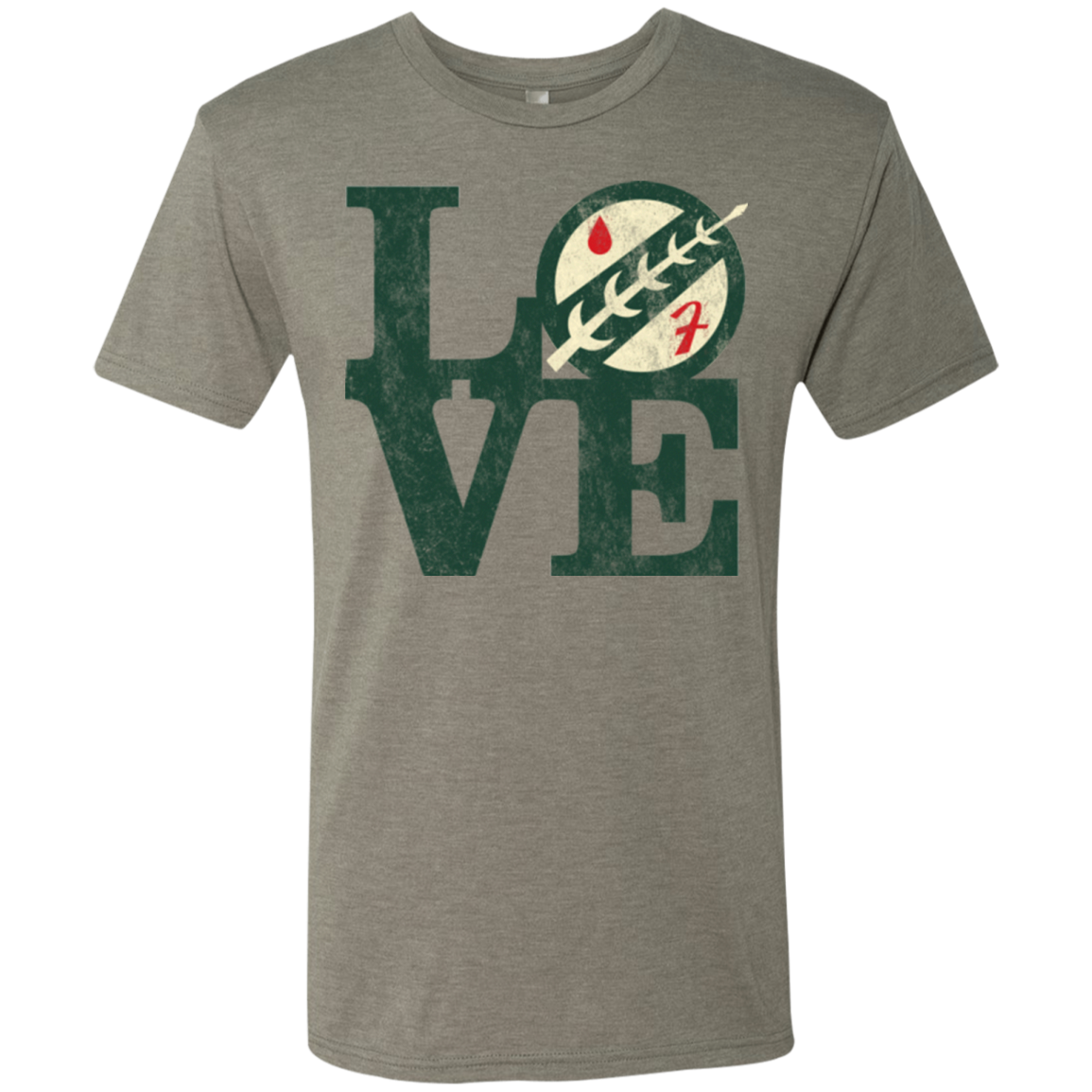 LOVE Boba Men's Triblend T-Shirt