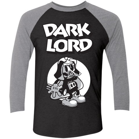 Dark Lord Men's Triblend 3/4 Sleeve