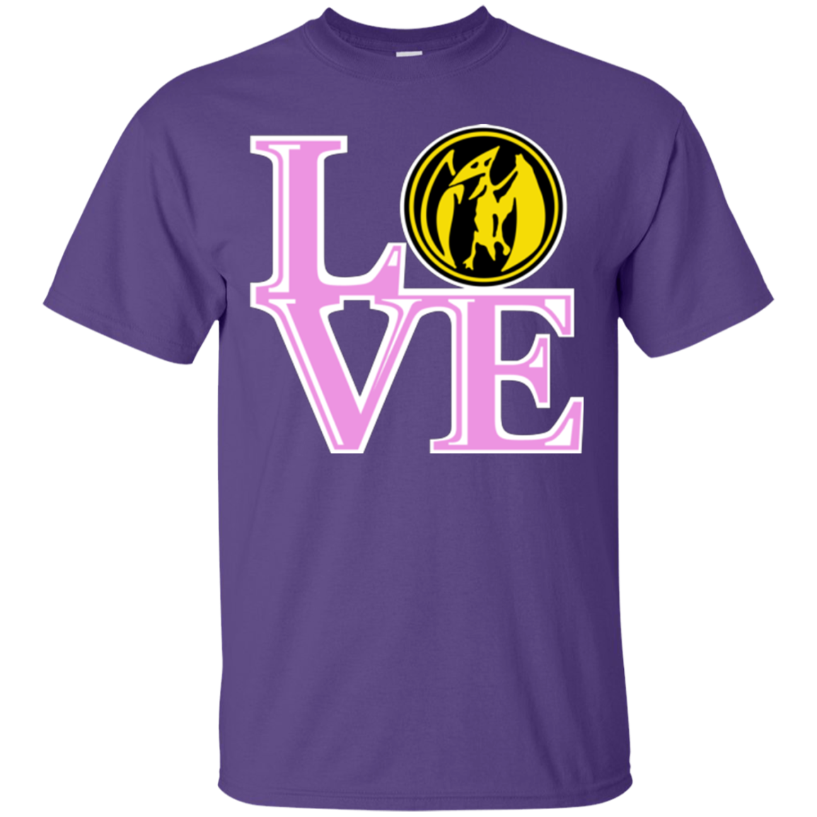 Pink Ranger LOVE T-Shirt