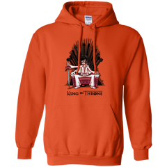 King on Throne Pullover Hoodie