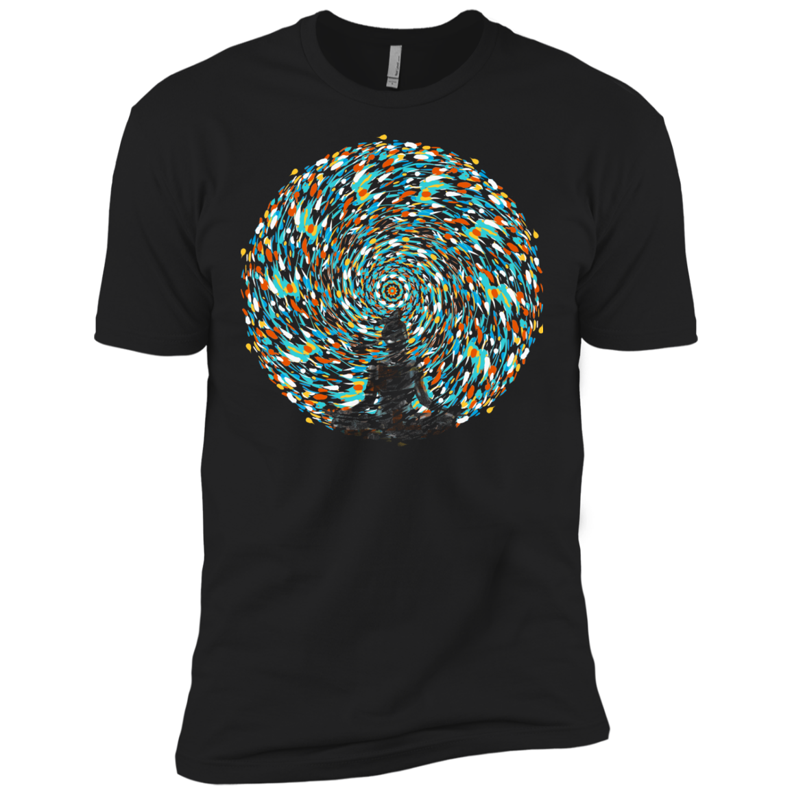 Vortex Bending Men's Premium T-Shirt
