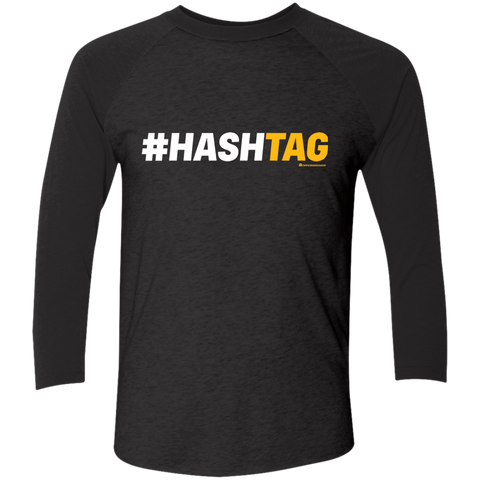 Hashtag Men's Triblend 3/4 Sleeve