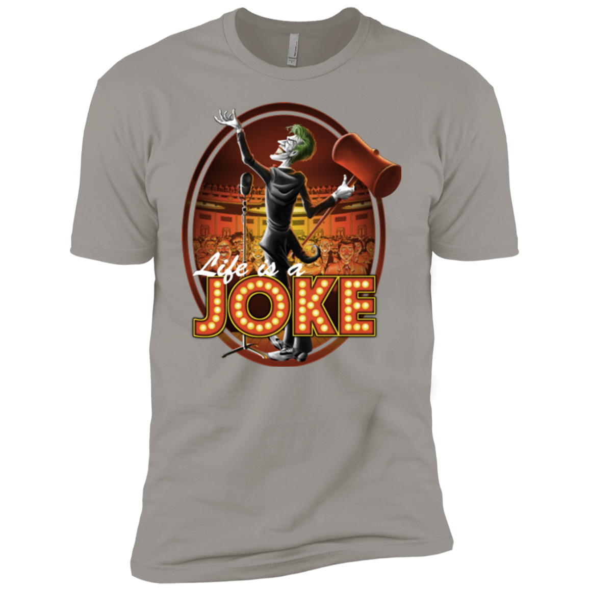 Life Is A Joke Boys Premium T-Shirt