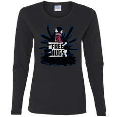 Symbiote Hugs Women's Long Sleeve T-Shirt