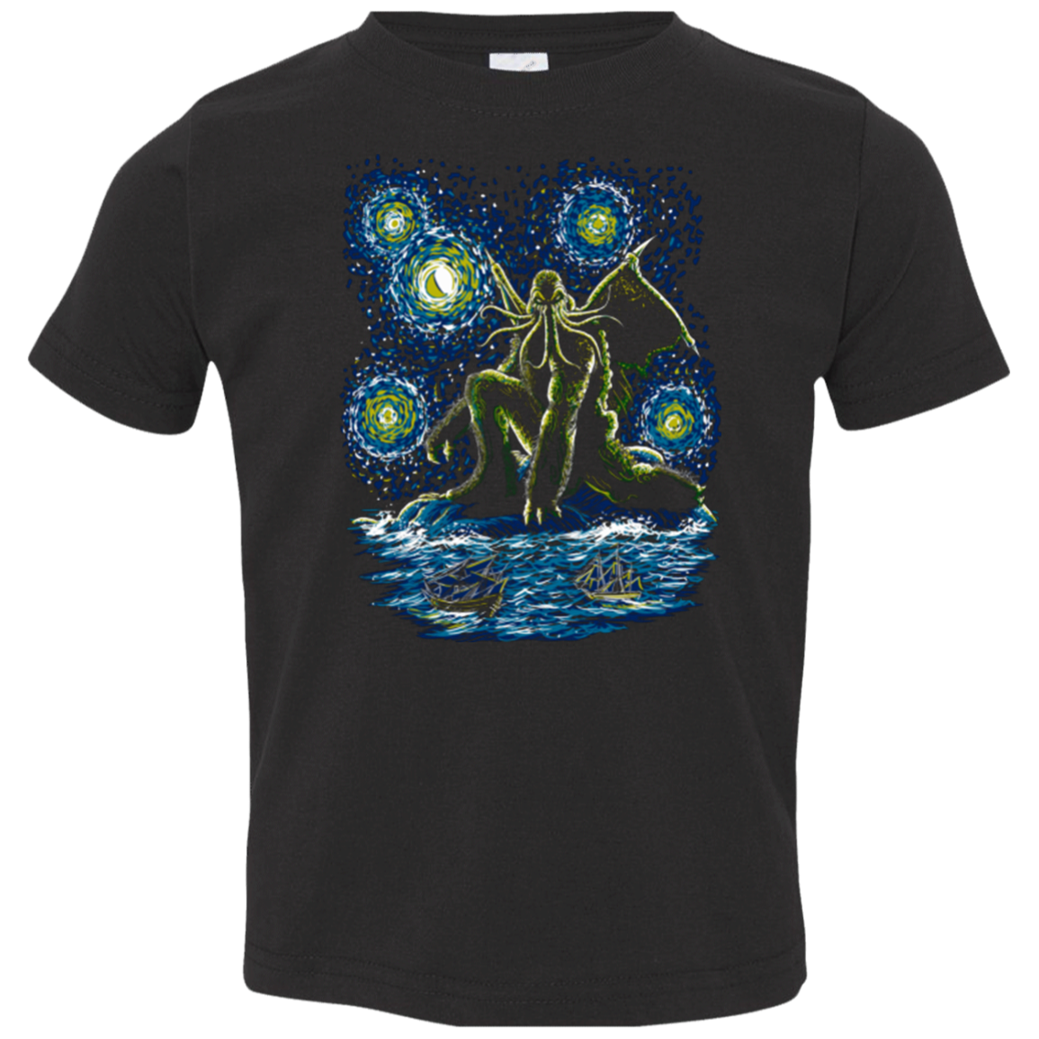 Night of Cthulhu Toddler Premium T-Shirt