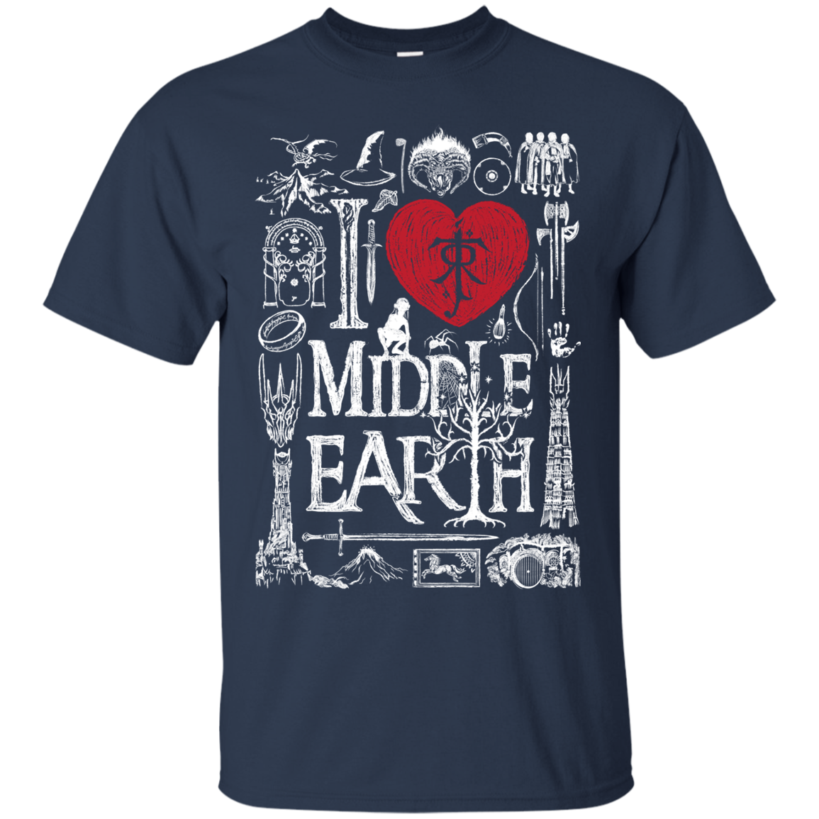 I Love Middle Earth T-Shirt
