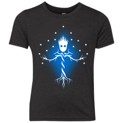 Guardian Tree of The Galaxy Youth Triblend T-Shirt