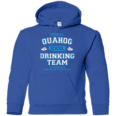 Quahog Drinking Team Youth Hoodie
