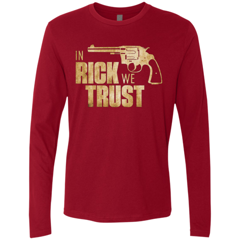 In Rick We Trust Men's Premium Long Sleeve